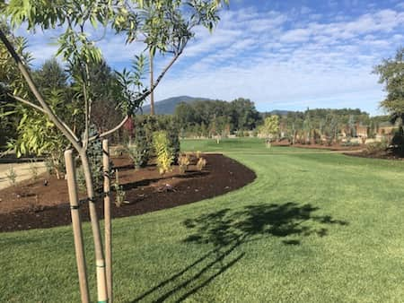 Landscaping With Sod, Customized Irrigation System