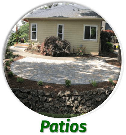 Patio Landscaping Projects